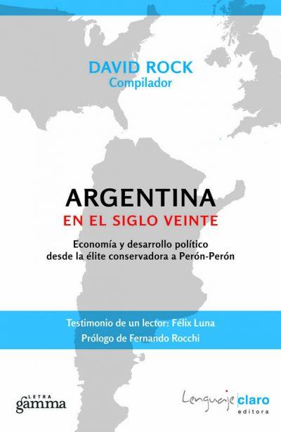 Tapa Argentina en el siglo veinte