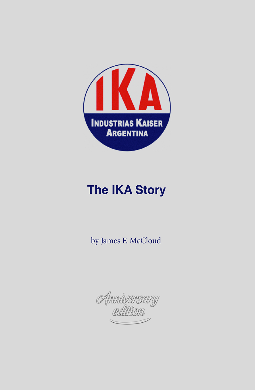 The IKA Story cover